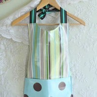 Play Time Laminated Child's Apron | Modern Vintage Home & Office