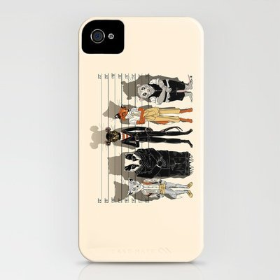 Unusual Suspects iPhone Case by Castlepöp | Society6