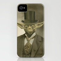 Sir Yoda iPhone Case by Terry Fan | Society6