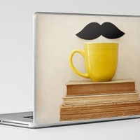 Mr. Stache Laptop & iPad Skin by Laura Ruth | Society6