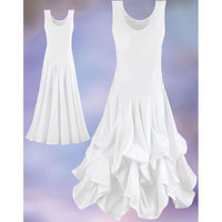 White Crystal Dress                                - New Age & Spiritual Gifts at Pyramid Collection