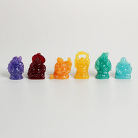 Mini Laughing Buddha Figurines Set