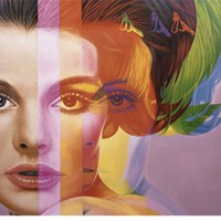 Spectrum Stretched Canvas Print by Richard Phillips