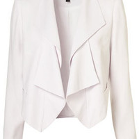 Waterfall Crop Jacket - Tops - Going Out - Designers &amp; Collections - Topshop USA