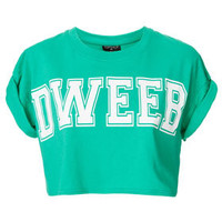 Dweeb Crop - Jersey Tops  - Clothing
