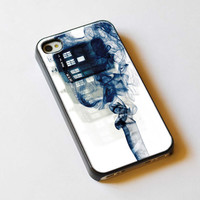 Tardis Doctor Who Smoke For iPhone 5 Case or by TlogosariJaya