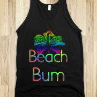 Colorful Beach Bum Tank