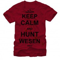 Grimm Keep Calm and Hunt Wesen T-Shirt