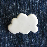 cloud brooch (design 1)