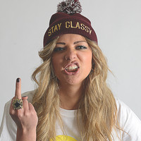 Plug and String Clothing  The Stay Classy Hat