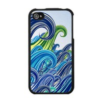 Waves - IPhone 4 Case from Zazzle.com