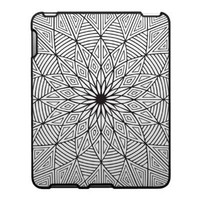 Geometric Flower - IPad Case from Zazzle.com