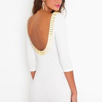 Gold Rush Dress in Clothes at Nasty Gal