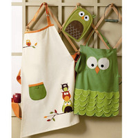 Hoot Owl Adult & Child Apron at Wrapables -  Aprons