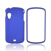 Samsung Stratosphere i405 Rubberized Hard Case - Blue