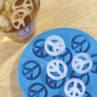 Peace Ice Mold | FunSlurp