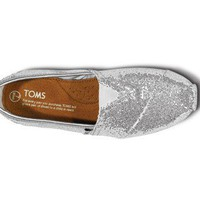 Shop TOMS Silver Glitters At TOMS Official Store