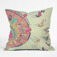 DENY Designs Home Accessories | Shannon Clark Dizzying Heights Throw Pillow
