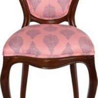 One Kings Lane - Annette Tatum - Queen Anne-Style Vanity Chair