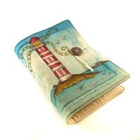 Lighthouse Journal Guestbook Diary by Kreativlink on Etsy