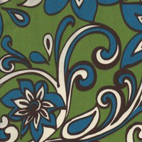 Loni Greenage Floral Outdoor by Premier Prints - Drapery Fabric - Fabric By The Yard