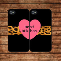 BEST BITCHES--iphone 4 case,iphone 4s case,iphone 4 cover,in plastic or silicone case