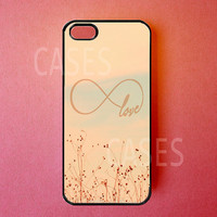 Iphone 5 Case Infinity Love Iphone Cover Best by DzinerCases