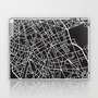 Paris Custom Map Print Laptop &amp; iPad Skin by BoldMaps