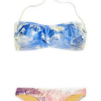 We Are Handsome|The Anchorage printed halterneck bikini|NET-A-PORTER.COM