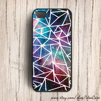Geometric iphone 5 case  Space iphone 4s case  Galaxy by IdeaCase