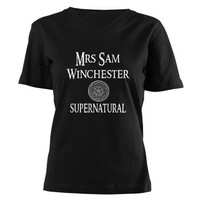 Mrs. Sam Winchester Supernatural Shirt on CafePress.com