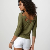 AE Braided T | American Eagle Outfitters