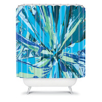 DENY Designs Home Accessories | Rosie Brown Bursting Bromeliad Shower Curtain