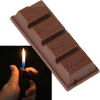 Chocolate Shaped Butane Jet Flame Lighter Refillable for Cigar Cigarette [4494] - US$2.20 - China Electronics Wholesale - FlyDolphin.com