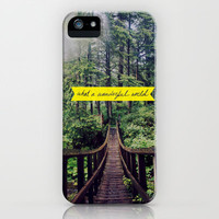 What a Wonderful World iPhone Case | Print Shop