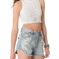 MINKPINK First Love Crop Tank | SHOPBOP