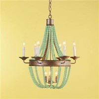 Beaded Basket Chandelier - 2 finishes! - Shades of Light