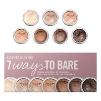 bareMinerals® '7 Ways to Bare' Eyecolor Collection | Nordstrom