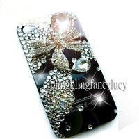 iphone 5 case, iphone 4 case, cute iphone 4s case, iPhone 4 bow Case, bling iPhone 5 case, bling iphone 4s case, cute iphone 5 case skin