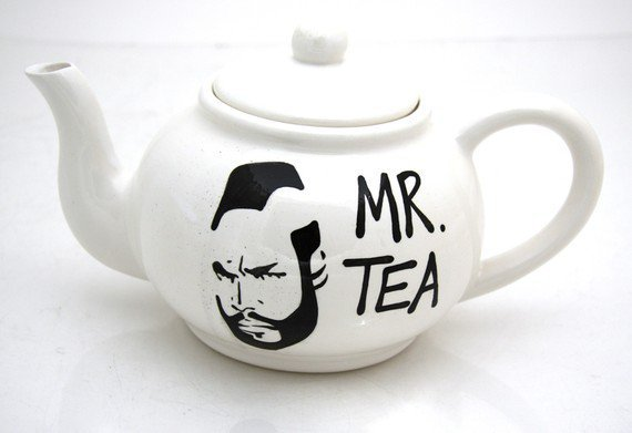 Mr  T Tea Teapot by LennyMud on Etsy