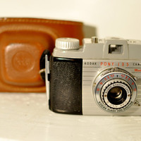 Vintage Kodak Pony 135 Model B Camera 35mm by LilytheDogVintage