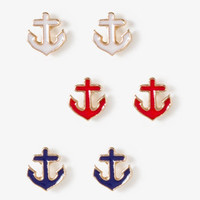 Anchor Stud Set | FOREVER 21 - 1040184582
