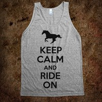 Keep Calm and Ride On (Tank) - Yee Haw!