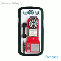 Vintage payphone-- samsung galaxy S3 case, galaxy note 2 case, iPhone 4 case, iphone 5 case