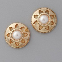 Juliet & Company Vintage Pearl Stud Earrings | SHOPBOP