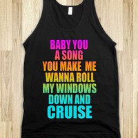 Baby You A Song - Cruise Tshirt - FLORIDA GEORGIA LINE <3  - Underlinedesigns