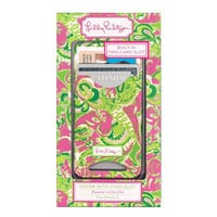 Lilly Pulitzer iPhone5 Card Slot Case - Chin Chin - Dwellings