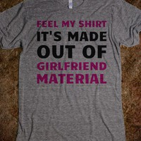 GF Material-Unisex Athletic Grey T-Shirt