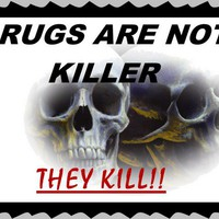 Drugs are Killer Art Prints by Bob M - Shop Canvas and Framed Wall Art Prints at Imagekind.com