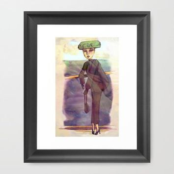 Du Pont Framed Art Print by Ben Geiger | Society6